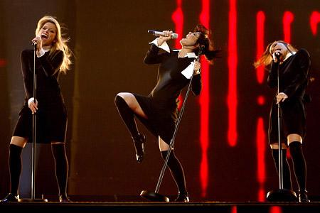 Russia - Serebro - Song#1 Eurovision 2007 Final Live ESC