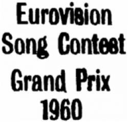 Eurovision Song Contest 1960
