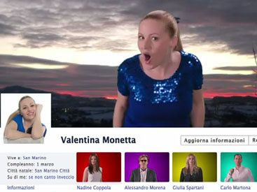 Valentina Monetta - The Social Network Song (Oh Oh - Uh - Oh Oh)