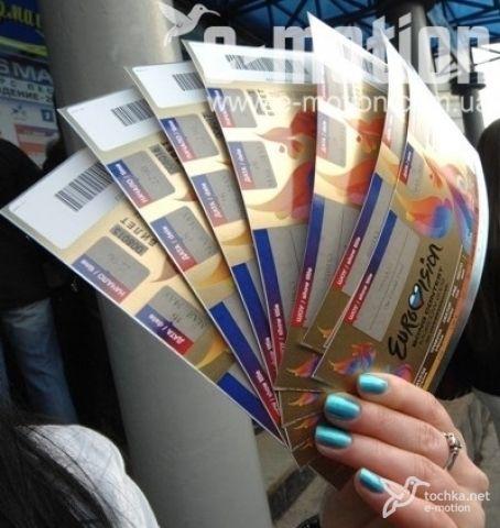VIP билет на Евровидение обойдется в 10 000$