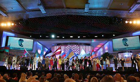 Победители Детской Новой волны 2010 в Артеке