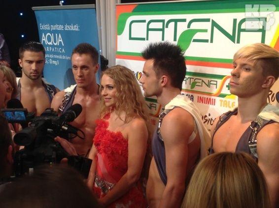 В Румынии Ланская раздавала интервью и выступала на отборе