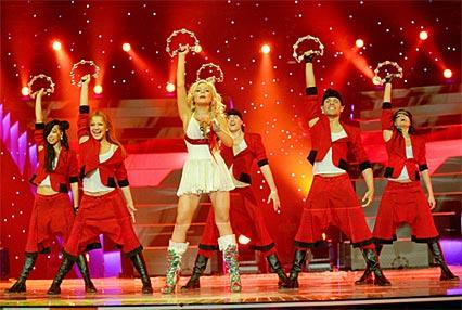 Тина Кароль заняла 7-е место на «Евровидении-2006»