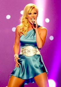 В финале «Евровидения 2006» Сандры Оксенрид не будет