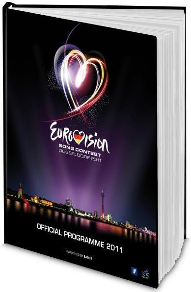 Eurovision 2011 Düsseldorf Official Programme Book