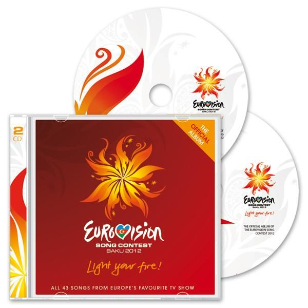 Official 2 CD ESC 2012