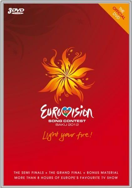 DVD ESC 2012 Baku