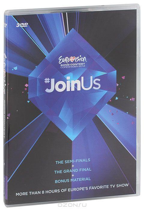 Eurovision Song Contest Copenhagen 2014 (3 DVD)