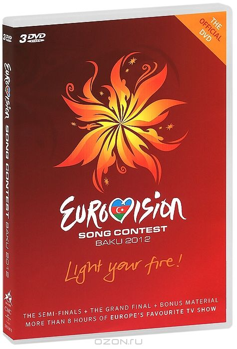 Eurovision Song Contest Baku 2012 (3 DVD)